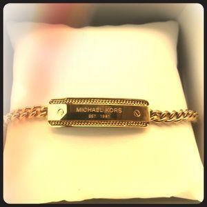NWT Michael Kors Nameplate Bracelet